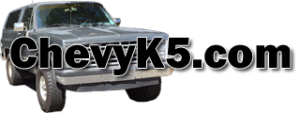 Chevy K5 Blazer and Square Body