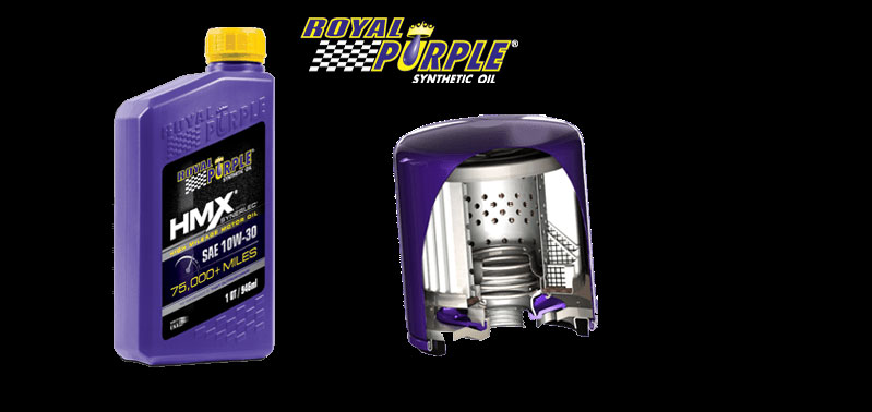 Royal Purple Oil and Filter K5 Blazer