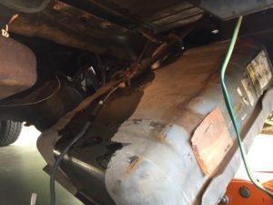Gas Tank Removal, Fuel Pump Replacement