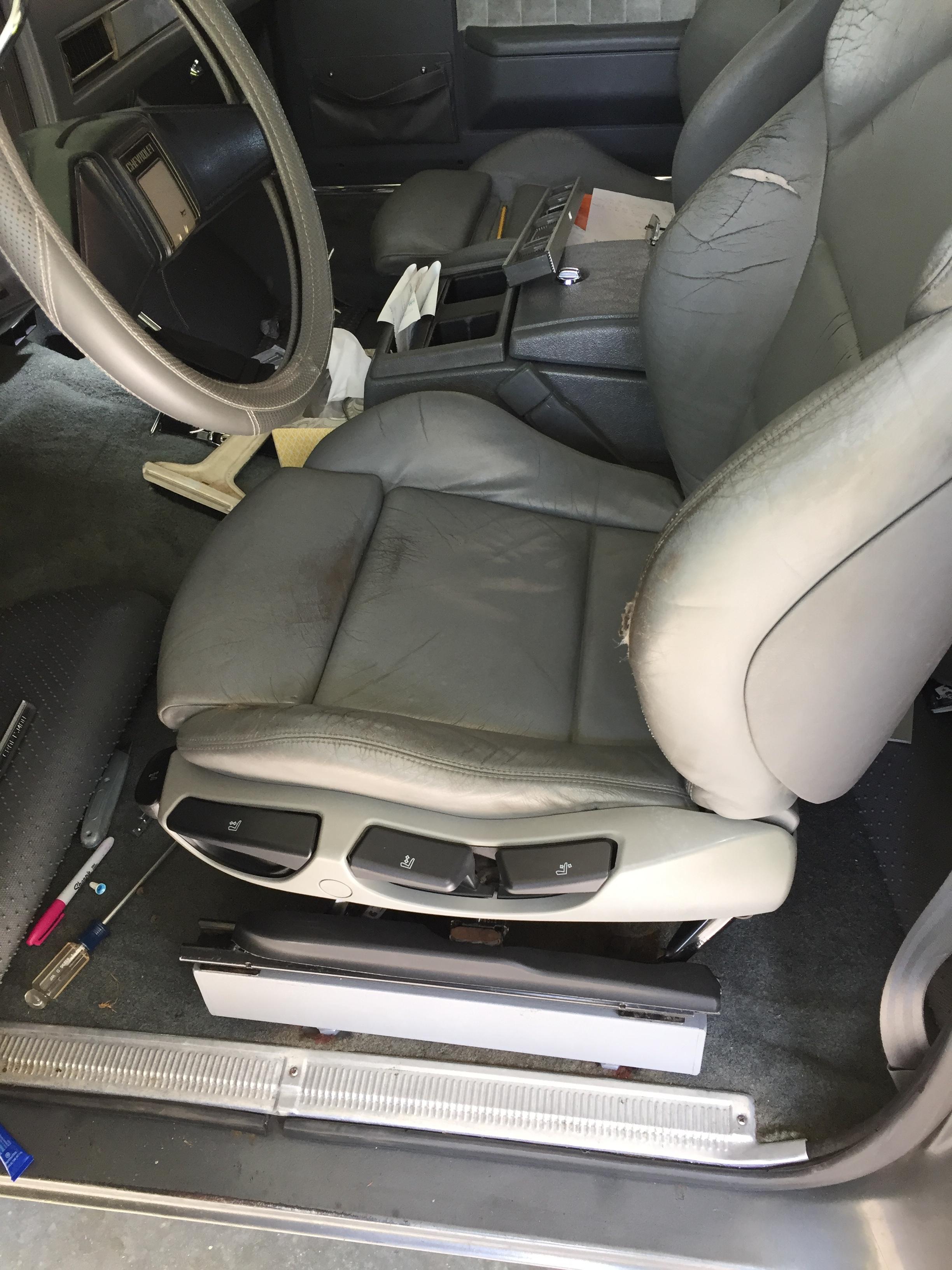 Installing Bmw E46 M3 Seats In K5 Blazer