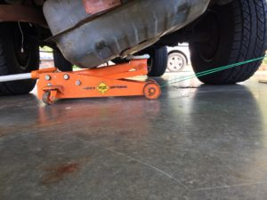 K5 Blazer Fuel Tank Installation