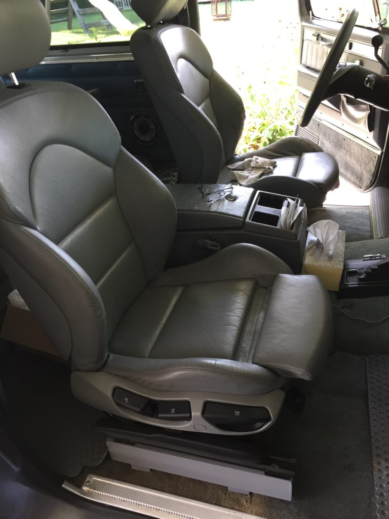 BMW E46 M3 Seats in K5 Blazer